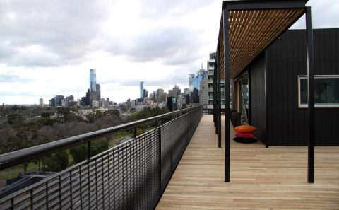 Modular Solution for an East Melbourne Penthouse