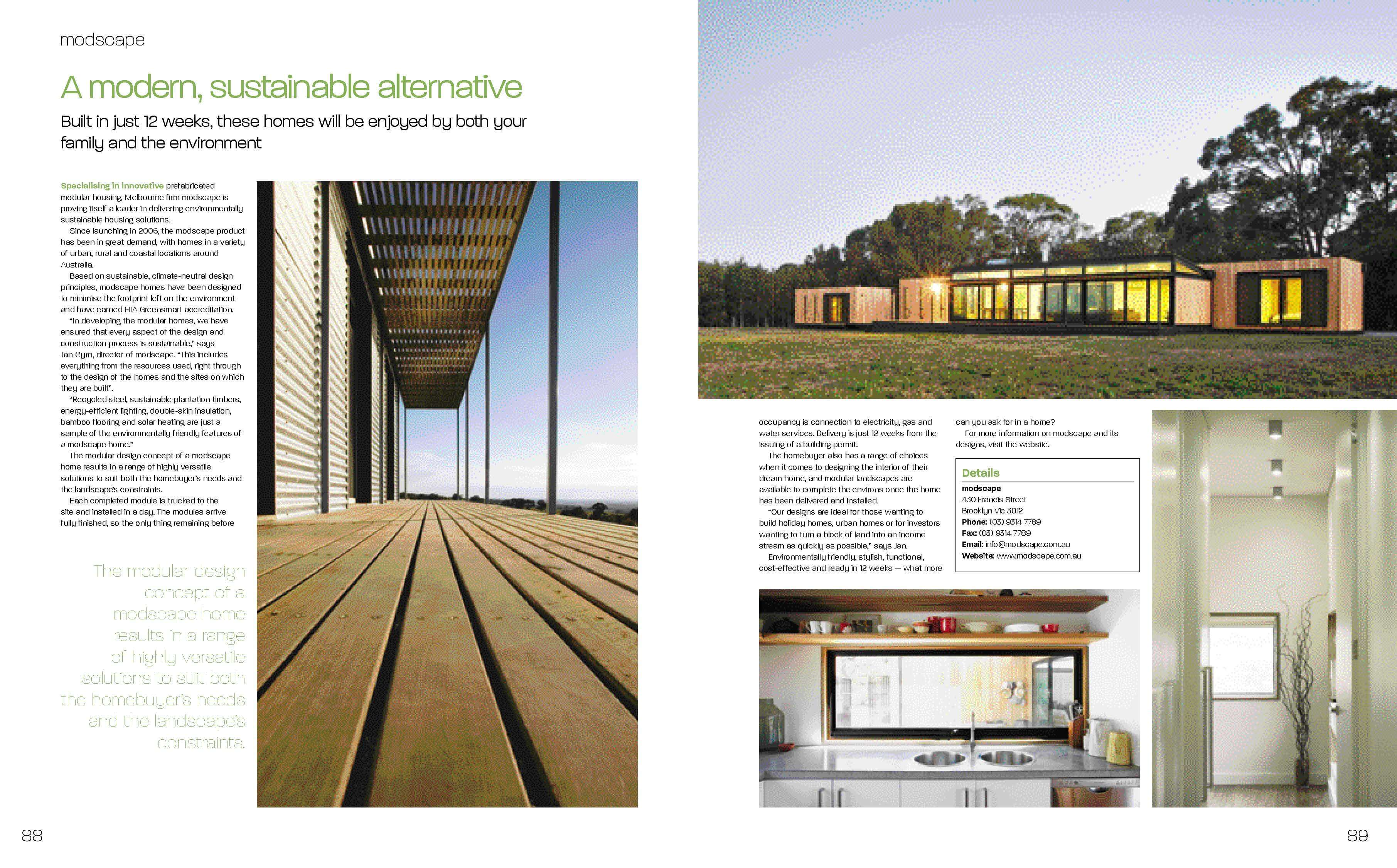Featured in Build Home Magazine