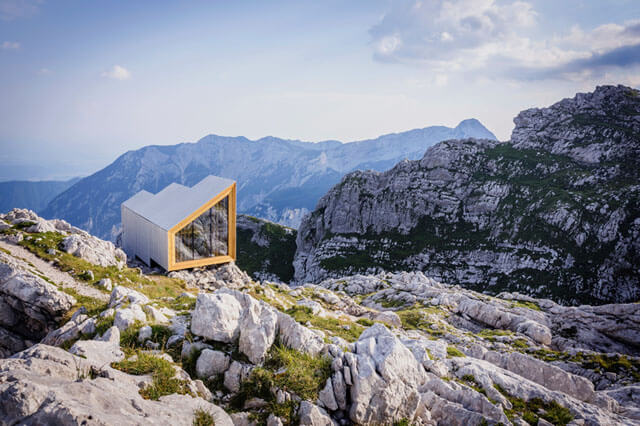 Prefab alpine shelter