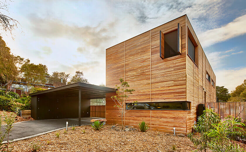 creating a sustainable home through passive design modscape
