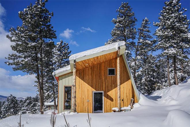 MARTaK Rest/Work Space in Colorado, USA. Image via Baosol