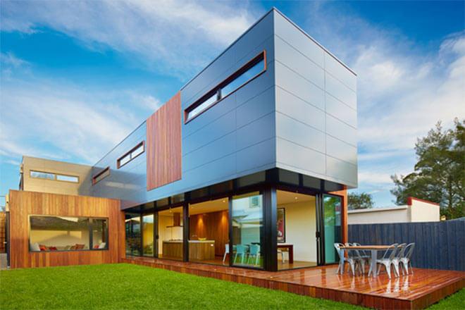 Modscape's Northcote home incorporates passive design principles