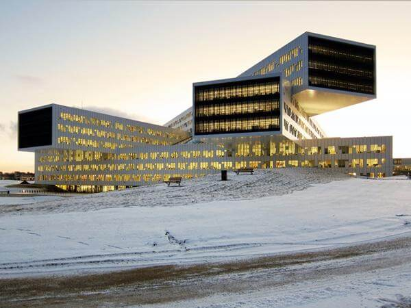 Scandinavia's Striking Superstructure