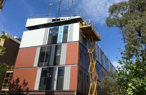 Modular Solution for The Avenue Hospital Extension