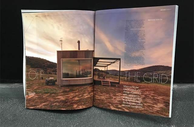 Off-grid living takes centre stage