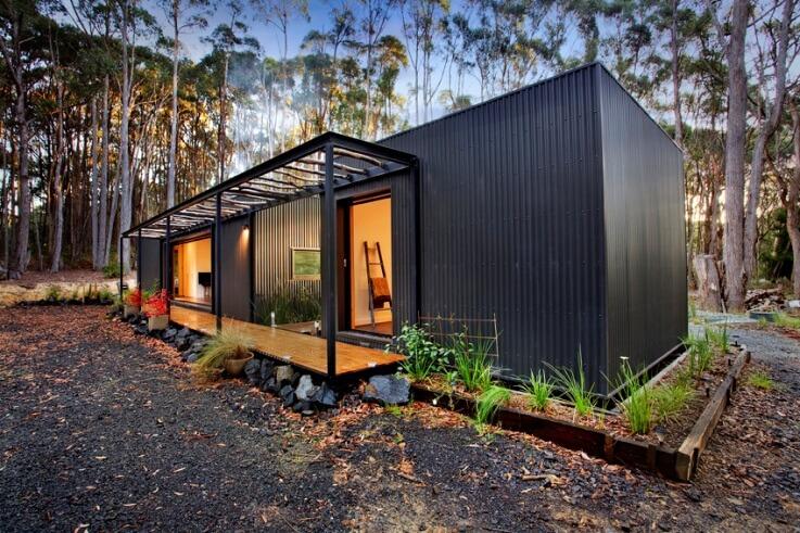 Custom Built Modular Home In Musk Modscape