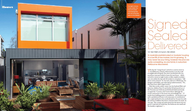 Modscape in Green Magazine