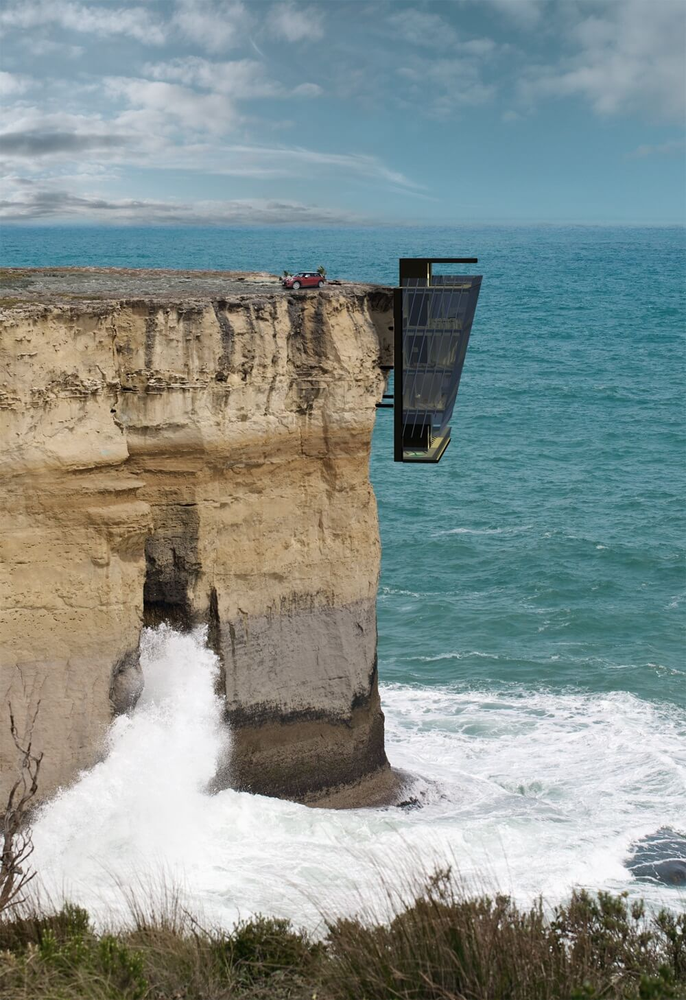Cliff House Concept by Modscape