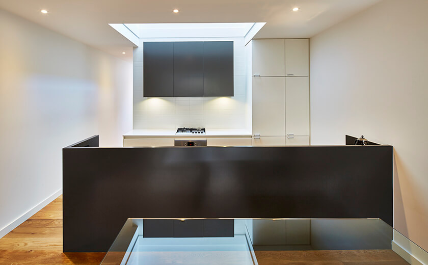 Kitchen lighting for prebuilt homes