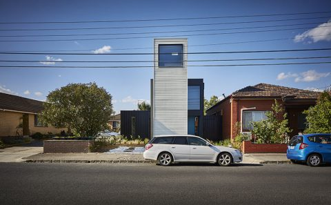 Sustainable House in Brunswick West, VIC