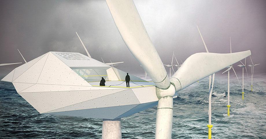 The City in the Sea: Wind Turbine Loft