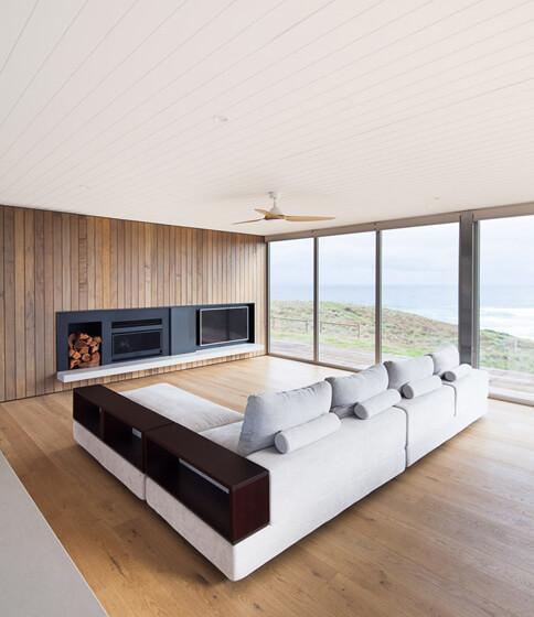 Phillip island modular home modscape modular house for Modular home designs australia