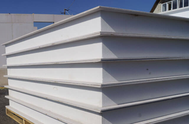 SIP panels for transportable homes