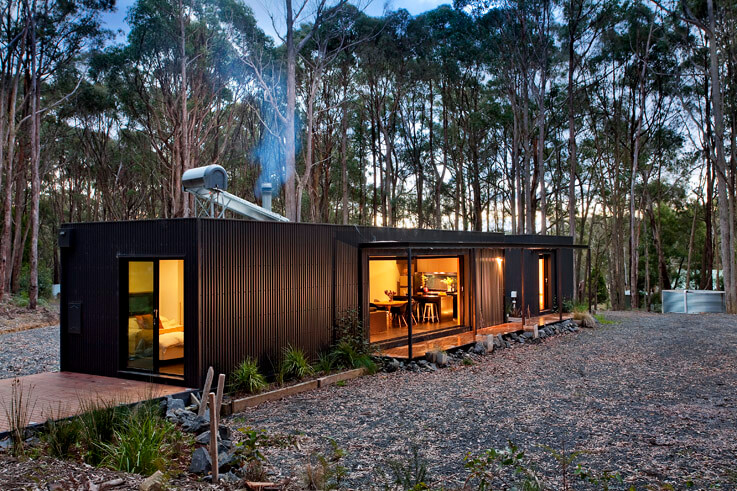 Colorbond steel for transportable homes by Modscape